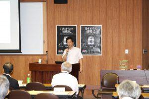 ボブスレー講演会の写真